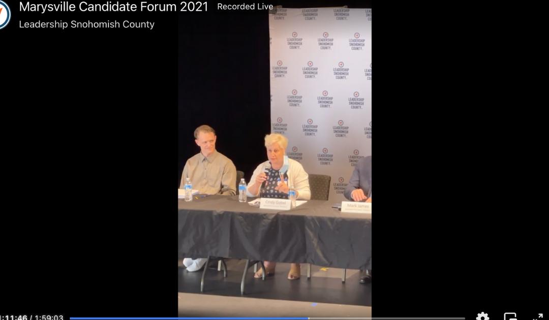 Marysville Candidate Forum 2021